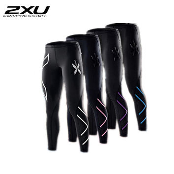 2xu Women Compression Fitness Tights Female Pants Joggers Superelastic Stretch Pants Breathable Joggers Trousers