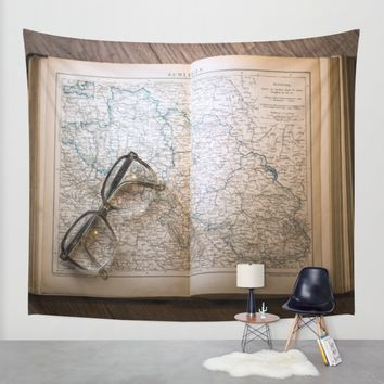 Travel Wall Tapestry by Mixed Imagery
