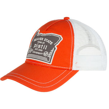 Pistil Oregon Trucker Hat Orange, One