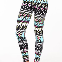 DIAMONDS CHEVRON LEGGINGS