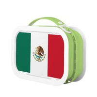 Mexican flag Lunch Box