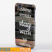 Happyness Quote Harry Potter iPhone 4/4S, 5/5S, 5C Series Full Wrap Case