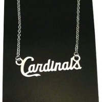 St. Louis Cardinals Script Team Necklace