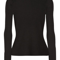T by Alexander Wang - Ribbed wool turtleneck sweater