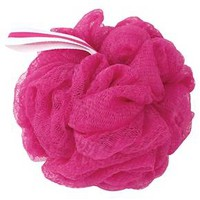 The Bathery Exfoliating Bath Sponge - Pink : Target
