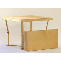 Spiderlegs CD3636-GO Hand Crafted & Custom Finished Puzzle Folding Table in Golden Oak