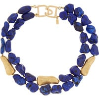 Kenneth Jay Lane - Gold-plated resin necklace