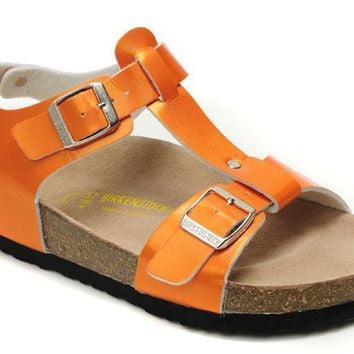 Birkenstock Odessa Sandals Artificial Leather Jacinth - Ready Stock