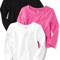 Long-Sleeve Tee 3-Packs for Baby