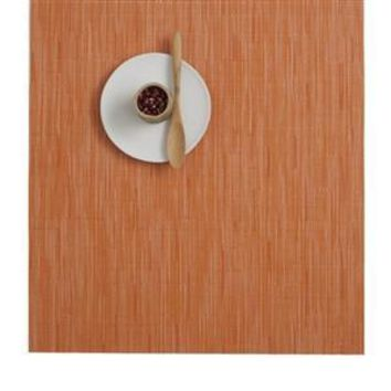 CHILEWICH Bamboo Square Placemat S/4 | Mandarin