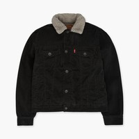Boys (8-20) Sherpa Trucker Jacket