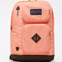 JanSport Austin Coral School Backpack - Womens Backpack - Blue - One
