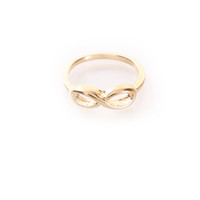 Gold Infinity Cut Out Ring