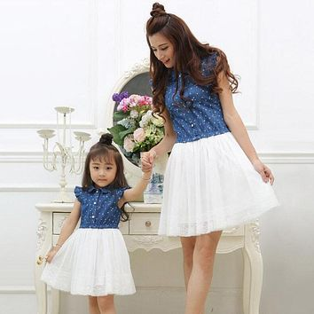 Mother & Daughter Matching Dresses