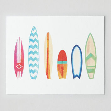 Perspectives in Print Surfboard Print , Multi