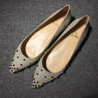 DCCK2 Cl Christian Louboutin Flat Style #721