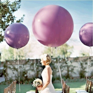 5pcs/lot 36 Inch Super Big Large Wedding Decoration Birthday Party Ballons Thickening Multicolor Latex giant huge Balloon = 1932509444