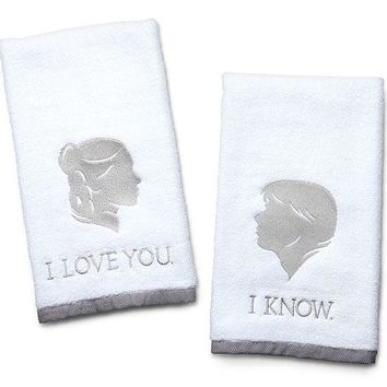 Star Wars I Love You / I Know Hand Towels