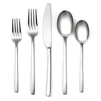 20-Pc Beacon Mirror Stainless Steel Set, Flatware Place Settings