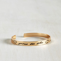 Sayings Boundless Love Bracelet by ModCloth