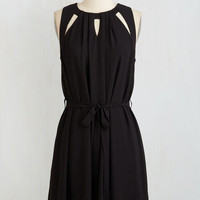 LBD Mid-length Sleeveless A-line Fundamentally Fetching Dress
