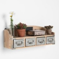 UrbanOutfitters.com > Vintage Wood Card Catalog Shelf