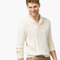 SHAWL COLLAR SWEATER - View all - Sweaters & Cardigans - MEN - United States of America / Estados Unidos de América