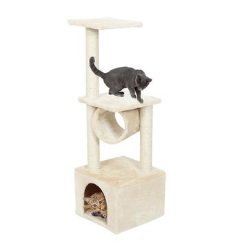 Two Tier Cat Tree with Cyllindrical Bed