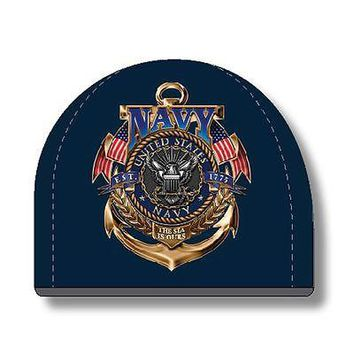 New US NAVY THE SEA IS OURS BEANIE HAT OSFM