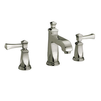 Yosemite Home Decor YP2213-BN Brushed Nickel 8-Inch Widespread Low Lead lavatory faucet with Metal Pop-up drain