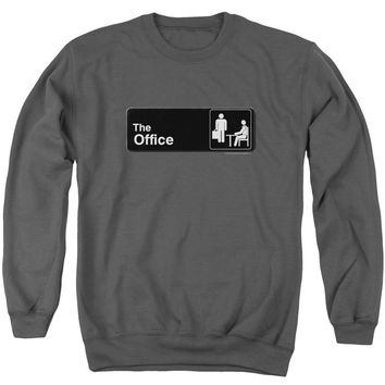 The Office - Sign Logo Adult Crewneck Sweatshirt Officially Licensed Apparel
