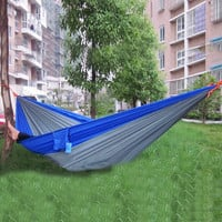 Hammock nylon fibric Indoor Garden Outdoor camping hanging