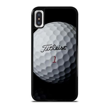 TITLEIST GOLF iPhone X Case Cover