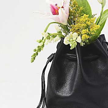 Free People Womens Bleeker Bucket Bag