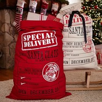 Special Delivery Santa Bags | Pottery Barn Kids