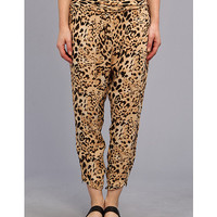 Free People Cheetah Twisted Harem