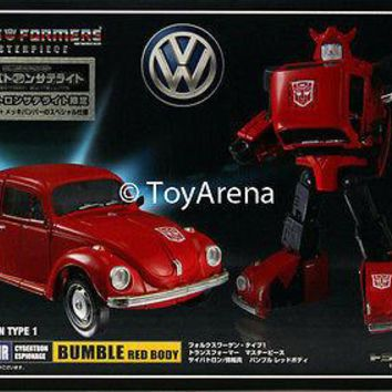 Transformers Masterpiece MP-21R Bumblebee (Red Body) Volkswagen Takara Tomy