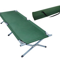 Green Portable Folding Cot Camping Military Hiking Medical Bed Sleeping Hammock