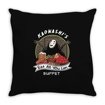 all you can eat buffet Throw Pillow