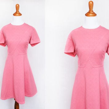 1960's (XL) / Vtg. 60's Plus Size Berkshire B-tween Dress