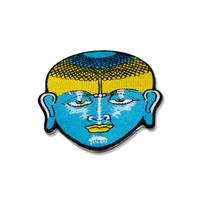 Buddha Head Patch Embroidered Iron On Patches