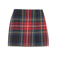 Opening Ceremony Tartan Mini Skirt