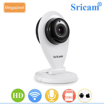 Sricam SP009 Wireless HD 720P IP Camera P2P CCTV Security ONVIF Camera for Mobile Preview Support IOS Android SD Card Storage