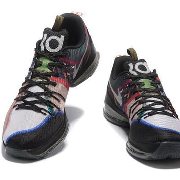 2017 Nike Zoom Kd 8 Kevin Durant Yin And Yang Version Men's Basketball Shoes - Beauty Ticks