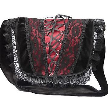 Women Renaissance Gothic Vintage Victorian Halloween Retro College Shoulder Bag