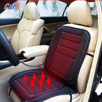 Car Seat Warmer Seat Cushion for Cold Days Heated Seat Cushion Cover Auto 12V Heating Heater Warmer Pad Winter