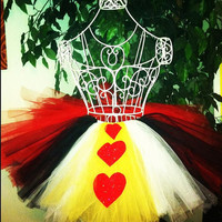 Girls Tutu Queen of Hearts