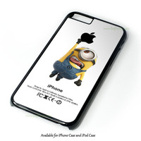 Despicable Me Minion Batman And Superman Galaxy Nebula Design for iPhone and iPod Touch Case