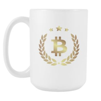 Bitcoin Halo Tall Mug