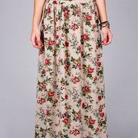 Rose Passion Maxi Skirt | Cute Skirts at Pink Ice